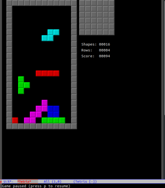 Some Advice for How to Make Emacs Tetris Harder   Something